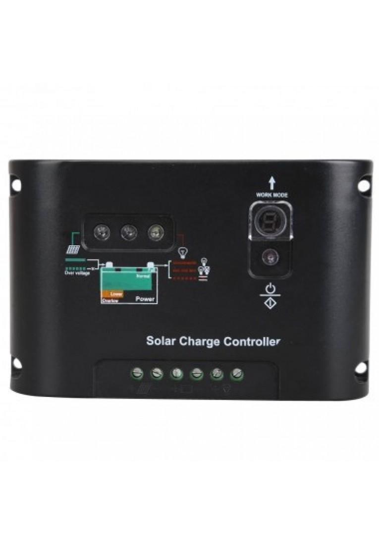 10A solar charging controller, street lamp regulator, 12V, 24V, automatic ×4