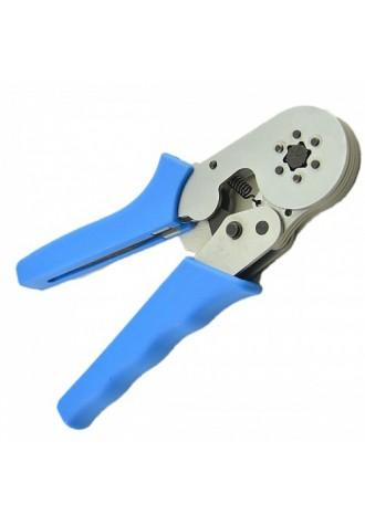 Hsc8 6-6 0.25-6.0mm crimping tool self adjusting ratchet ferrule type crimping pliers